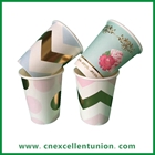 EX-PC-032 Customized Design Paper Cup Single Wall Paper Cup