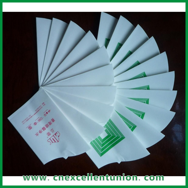 EX-PC-051 Wholesale Disposable Water Drink Envelope Paper Cup Cheap Price