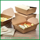 Kraft Paper Lunch Box Taking Away Box